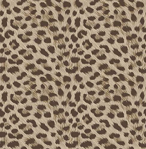 Fine Décor FD42469 Uk Tropica Animal Print Behang Bruin