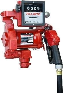 Fill-Rite FR711VA 115V 20 GPM Fuel Transfer Pump, Automatic Nozzle, & Mechanical Gallon Meter