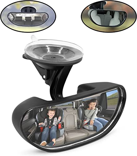 high quality Lebogner Baby sale Car wholesale Mirror, Windshield Front Facing Seat Full Wide Angle View Infant Mirror, Rearview Car Seat Mirror That Attaches With A Adjustable Suction Cup, Child Safety Hanging Accessories outlet online sale
