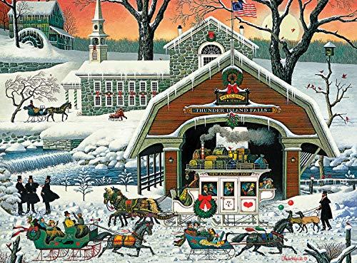1000 piece puzzles winter - 4