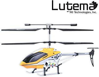 Lutema Mid-Sized 3.5CH Remote Control Helicopter, Yellow