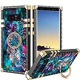 Vunake Samsung Galaxy Note 8 Hülle,Glitzer Case Cover 360