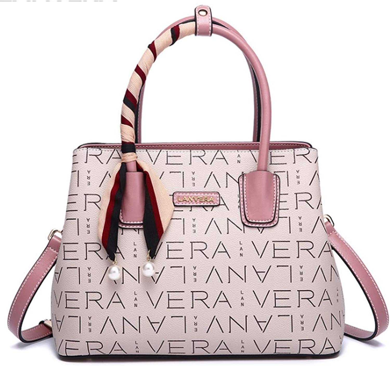 Teng Peng Damenmode Handtasche PVC Crossbody Umhängetasche Trend Handtasche Handtasche Umhängetasche (Farbe   B) B07PBPH7JR