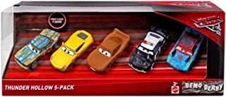 Disney Pixar Cars 3 Thunder Hollow 5-Pack