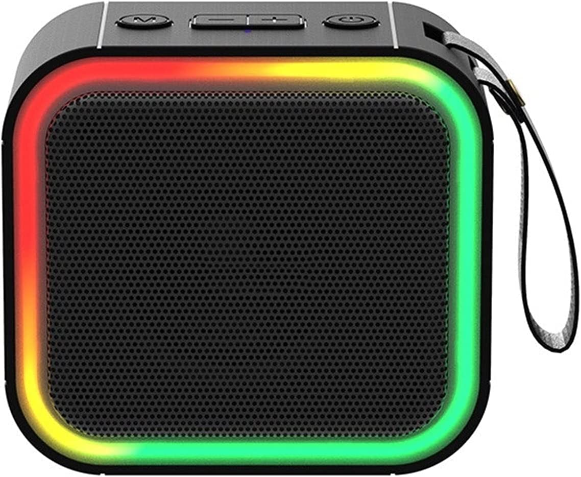 Qric Speaker unisex Challenge the lowest price of Japan ☆ Colorful Bluetooth Large Volume St Surround