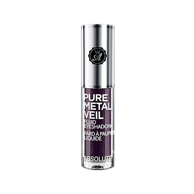 宿題歩道食べるABSOLUTE Pure Metal Veil Fluid Eyeshadow - Posh Plum (並行輸入品)