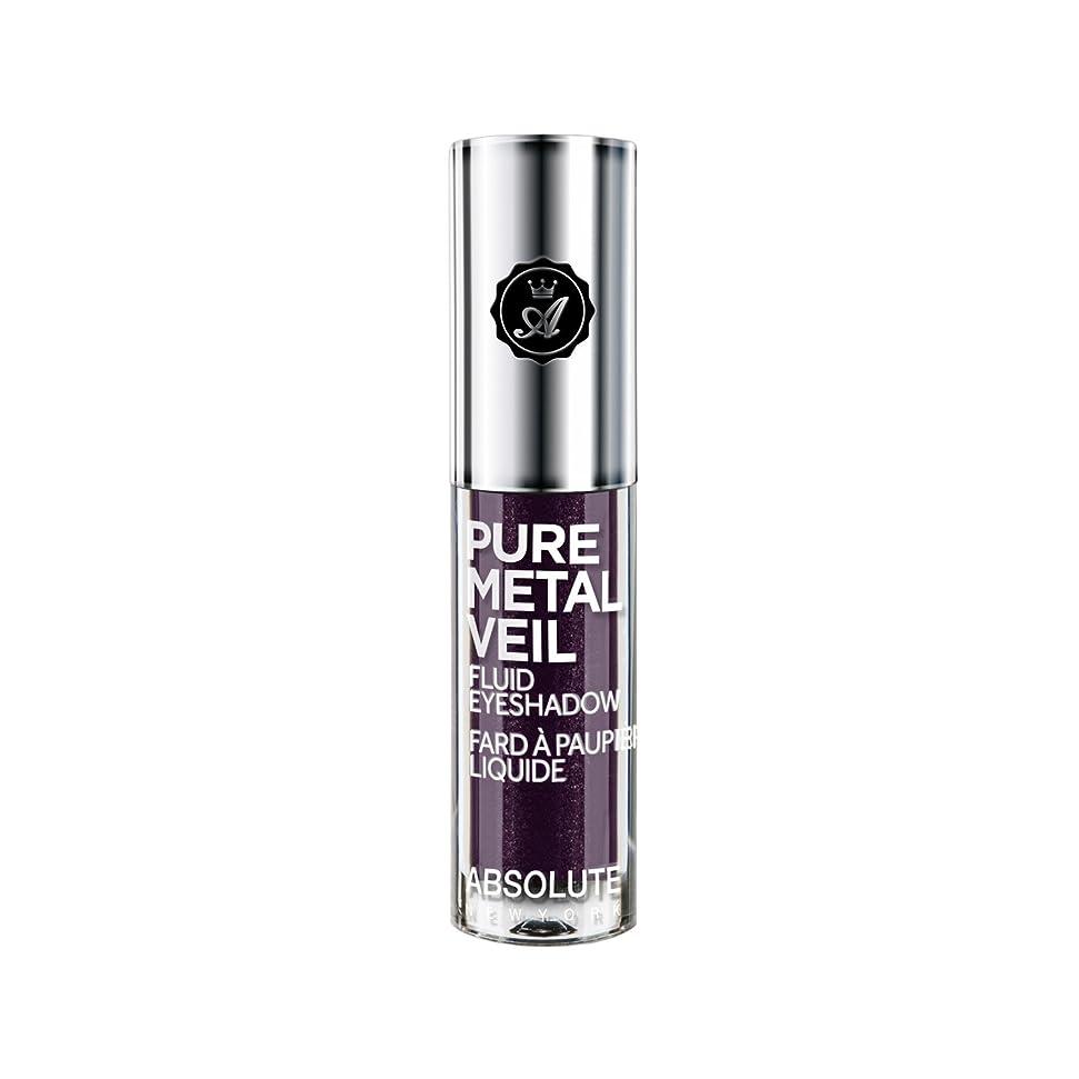 もつれ裕福な証言ABSOLUTE Pure Metal Veil Fluid Eyeshadow - Posh Plum (並行輸入品)