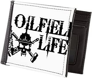 Oilfieldlife2 Mens Wallet, Bi-fold Wallet, Billfold Money Holder
