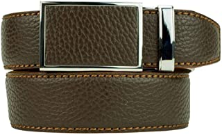 Go-In! Pebble Grain Leather Golf Belt Series for Men - Nexbelt Ratchet System Technology