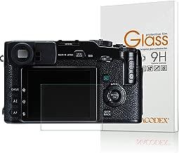 Screen Protector Compatible Fujifilm X-PRO1 Fuji X PRO1, Nacodex Tempered Glass Screen Protectors for Fujifilm X-Pro1 - 9H HD-Clear Anti-Scratch