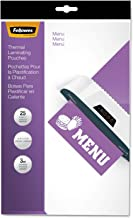 Fellowes 52011 Laminating Pouches, 3mil, 12 x 18, 25/Pack