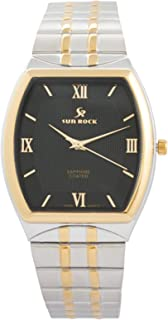 Sun Rock Dress Watch For Male - Analog Stainless Steel Band - SRG102