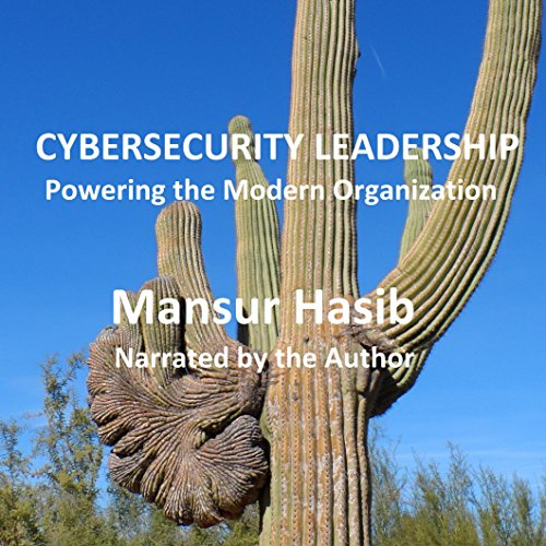 Cybersecurity Leadership audiobook cover art