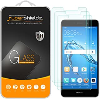 (3 Pack) Supershieldz for Huawei Ascend XT2 Tempered Glass Screen Protector, Anti..
