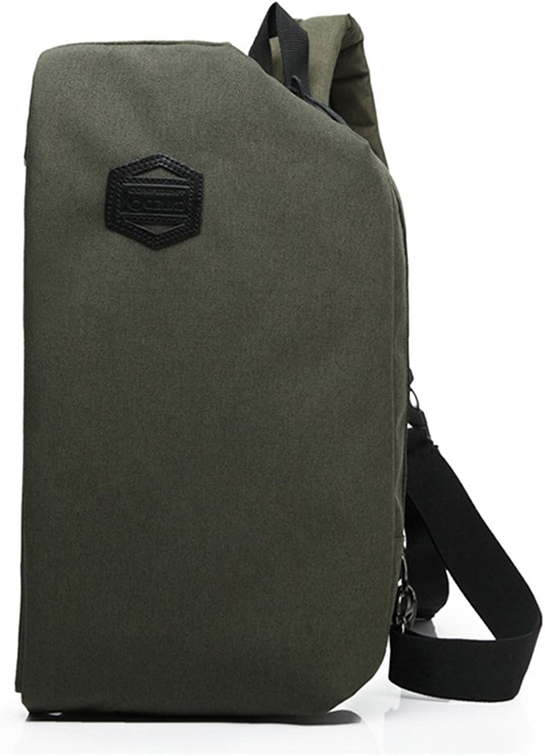 Sling Bag, Crossbody Canvas Chest Bag for Men WomenAnti-Theft Daypack Or Sport Outdoor Gym Travel Hiking