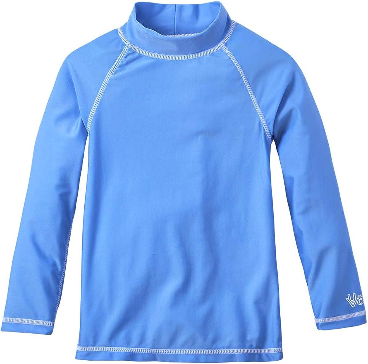 UV Skinz Boys' Long Sleeve Sun & Swim Shirt, UPF 50+ Sun Protection – Fast Drying