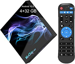 Runsnail Android TV Box 【4G + 32G】,V10 Android 10.0 TV Box 4GB RAM 32GB ROM with AllWinner H616 Quad-Core Supports 2.4G 5G...