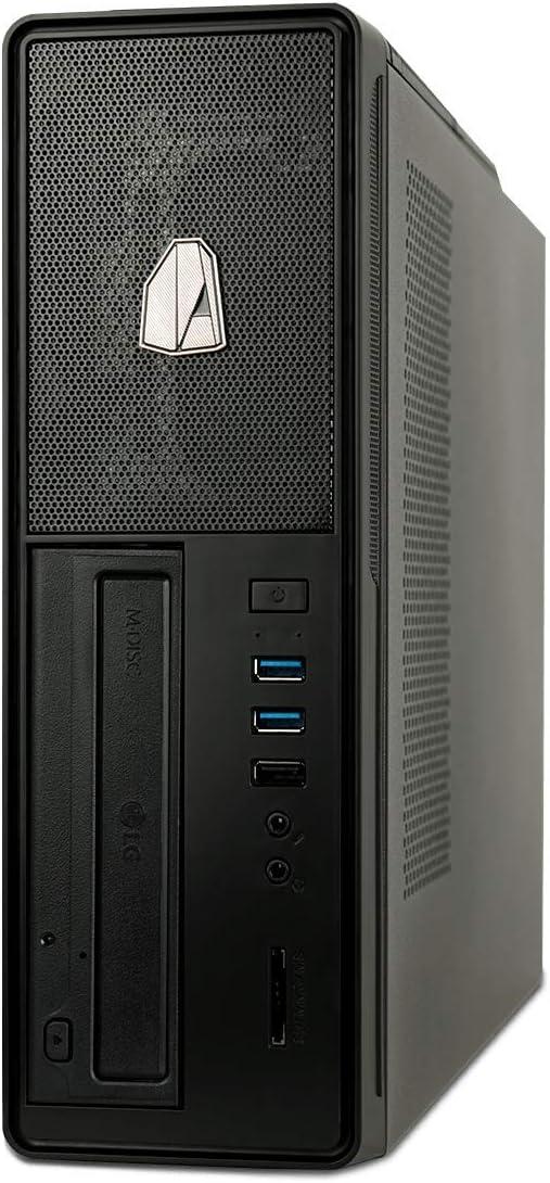 NITROPC - PC Oficina Gold, Rebajas, Ordenador sobremesa Trabajo (CPU Intel i5 10500 6 x 4,50Ghz (Turbo), Gráfica Intel UHD Graphics 630), RAM 16GB, ...