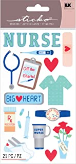 Sticko Scrapbooking Stickers, Registered Nurse