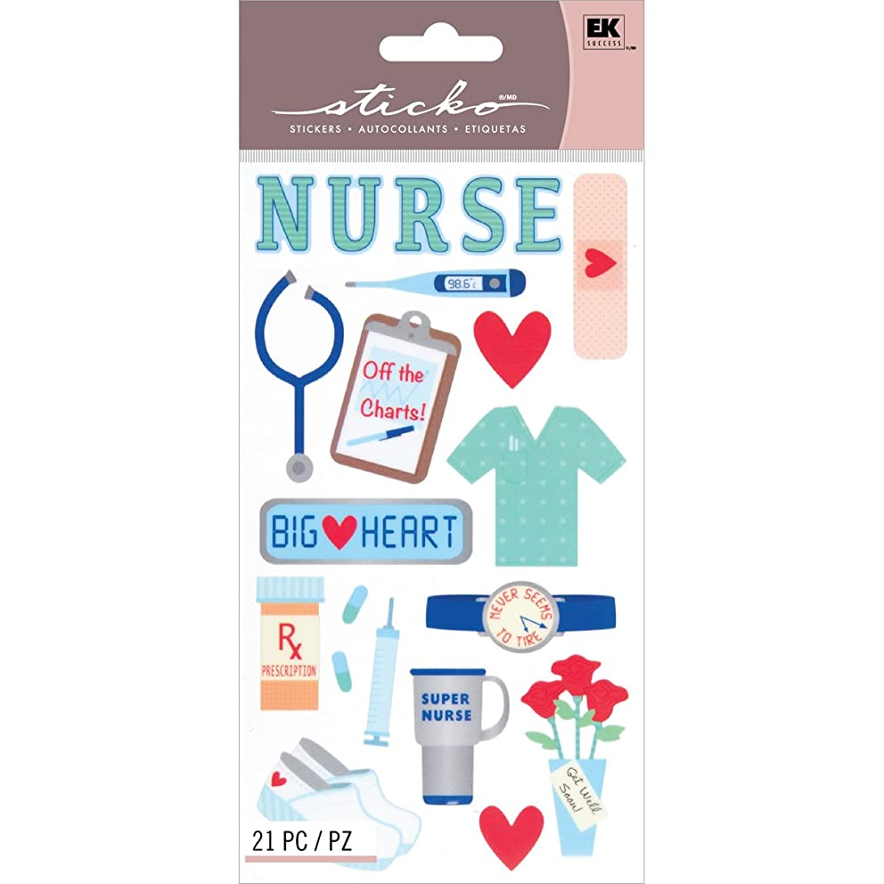 Sticko Scrapbooking Stickers, Registered Nurse