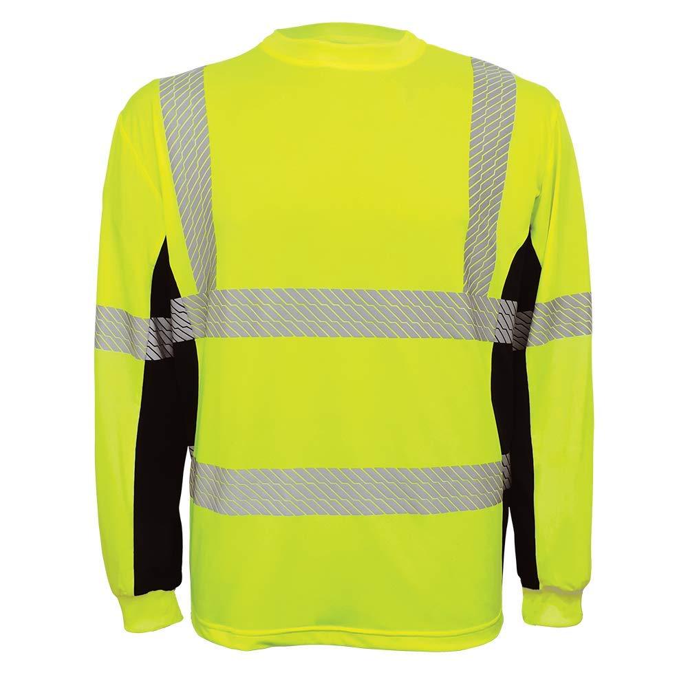 Global 2021 Glove GLO-225LS - FrogWear High-Visibility National uniform free shipping HV Perf High