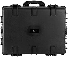 Monoprice Weatherproof / Shockproof Hard Case with Wheels - Black IP67 level dust and water protection up to 1 meter depth...