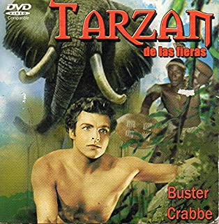TARZAN DE LAS FIERAS (DVD) BURTER GRABBE