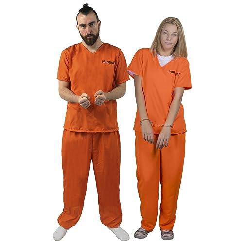 Convict man teen costume are