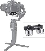 Ronin S/Ronin SC Gimbal Counterweight, 253g Quick Relase Plate Mount Counterweight, Balance Camera Lens Compatible with DJI Ronin S/Ronin SC/BMPCC 4K/6K/8K DSLR