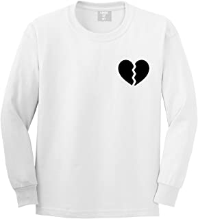 Broken Heart Mens Long Sleeve T-Shirt