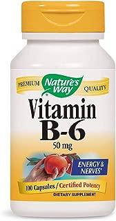 Nature's Way Vitamin B-6 (Packaging May Vary)