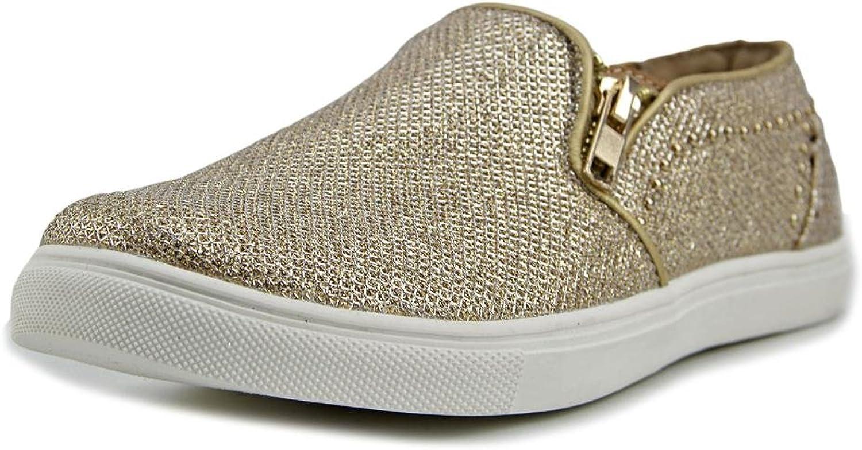 Thalia Sodi Womens Zoie Glitter Slip On Casual shoes