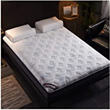 Tatami Mattress, Roll Up Mattress Foldable Comfort Portable Folding Single Double Bed Stable Folding Mat for Living Room D...