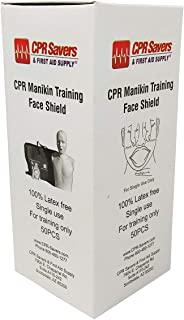 CPR Savers and First Aid Supply CPR Training Face Shields for Easy Sanitation on Manikins (1)