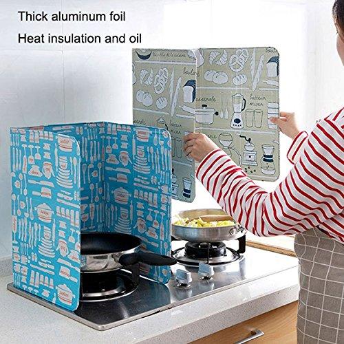 rokoo das Windschutz-Rat Deckung Forststiefel Öl verhindern Spritzern für die Küche Küche