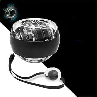 Handtag Ball-Wrist Ball 100 Kg-Fitness Wrist Device-Självstartande med färgade lampor-Armstyrka handled-Silent,Platinum bl...