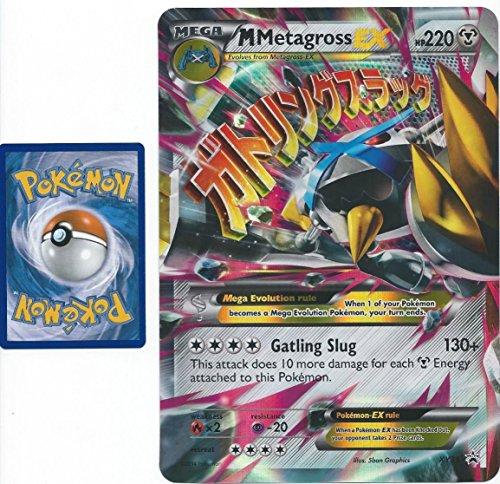 Jumbo Shiny Mega Metagross EX (#XY35) Oversized Pokemon Trading Card (Rare/Holo-Foil, Promo)