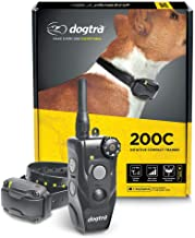 Dogtra 200C – Waterproof ½-Mile One-Handed Operation Remote Training Dog E-Collar