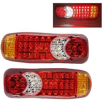 2 pz 12V 24V camion LED fanale posteriore luce posteriori lampada