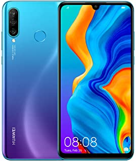HUAWEI P30 Lite New Edition Marie-L21BX Dual-SIM 256GB Factory Unlocked 4G/LTE Smartphone - International Version (Peacock...