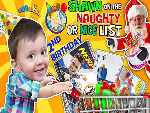 Shawn's 2nd Birthday! On Santa's Naughty List! The Terrible Two's Are Here
