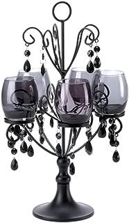 Home Locomotion Decorative Black Elegant Candelabra