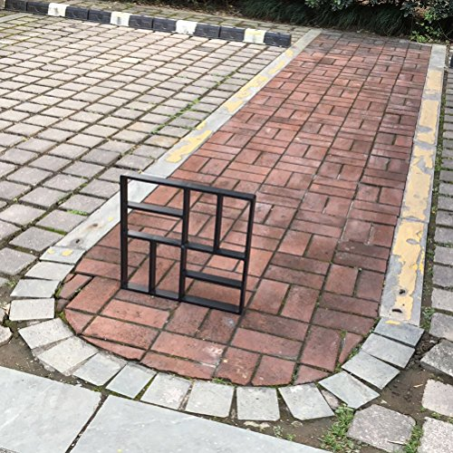 BESTOMZ Plastic DIY Path Maker Mold Manually Paving Cement Brick Molds for Garden Decor 4040cm