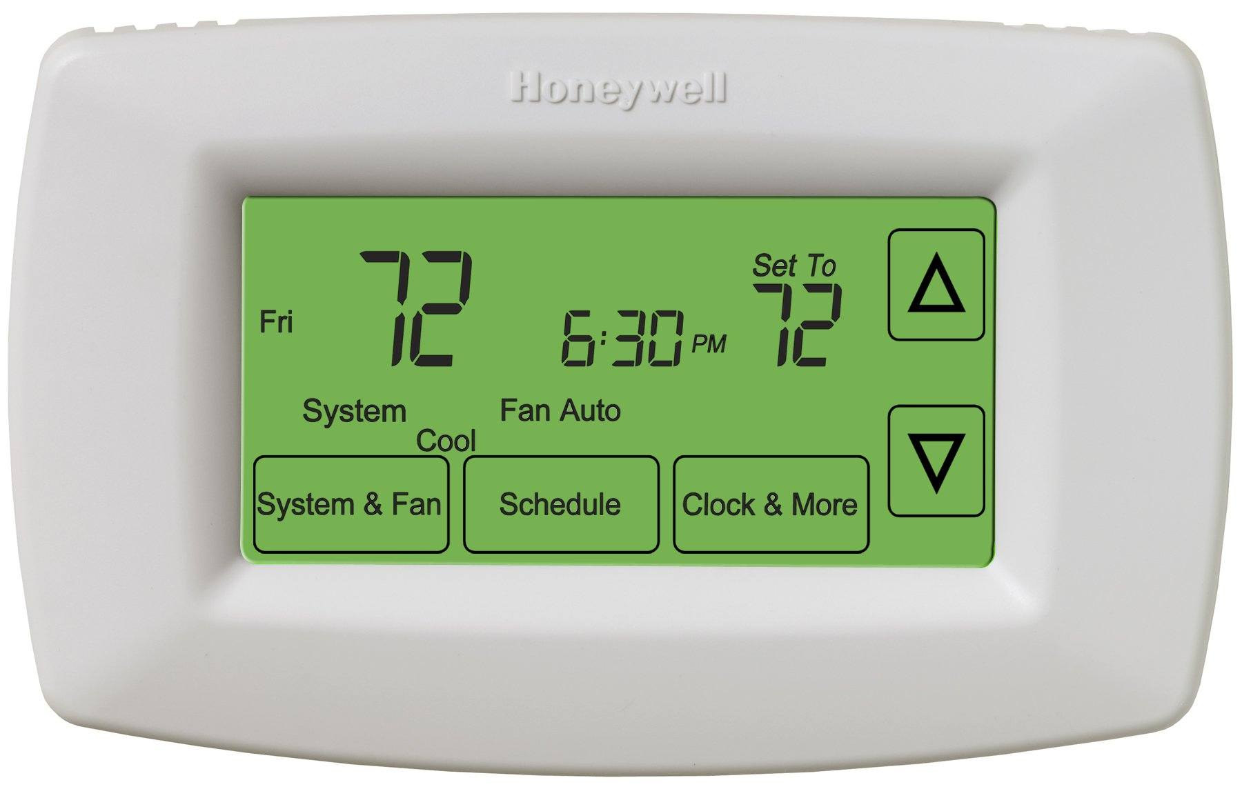 Honeywell RTH7600D Touchscreen Programmable Thermostat