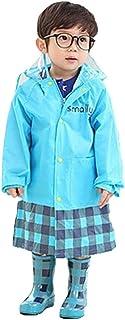 【Ludus Felix】レインコート キッズ 子供 男の子 女の子 レインウェア 雨具 かっぱ 携帯ポーチ付き