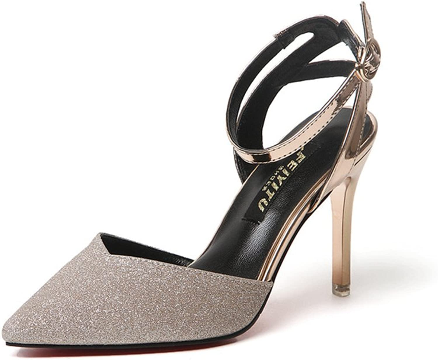 Women's Pointed Toe Pumps Office Business High Heels Sexy Stiletto shoes