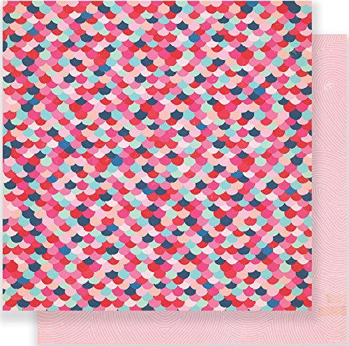 AMERICAN CRAFTS Main Squeeze Double-Sided Cardstock 12