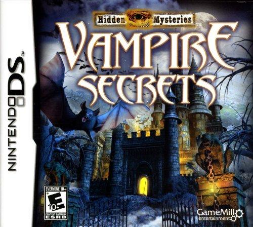DS Hidden Mysteries: Vampire Secrets by Game Mill