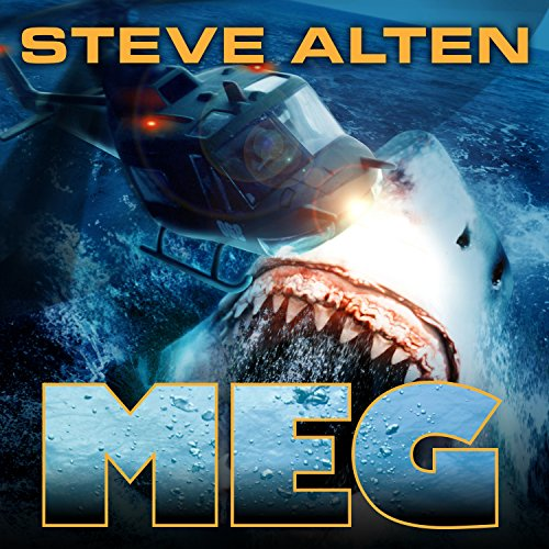 The MEG audiobook cover art