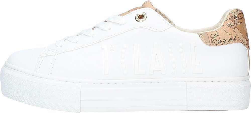 Alviero martini, scarpe sneakers da donna, in pelle sintetica N08760208